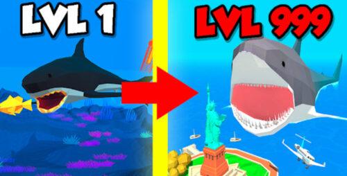 Idle Shark World: Hungry Monster Evolution