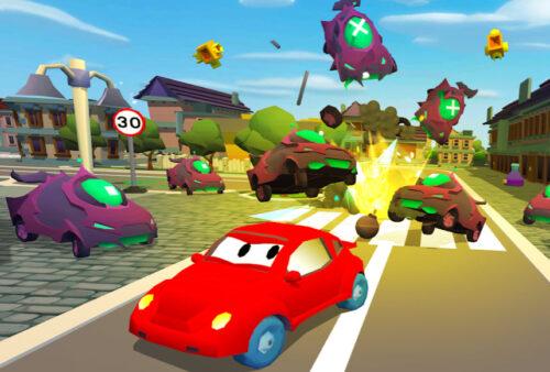 Car Eats Car 3D